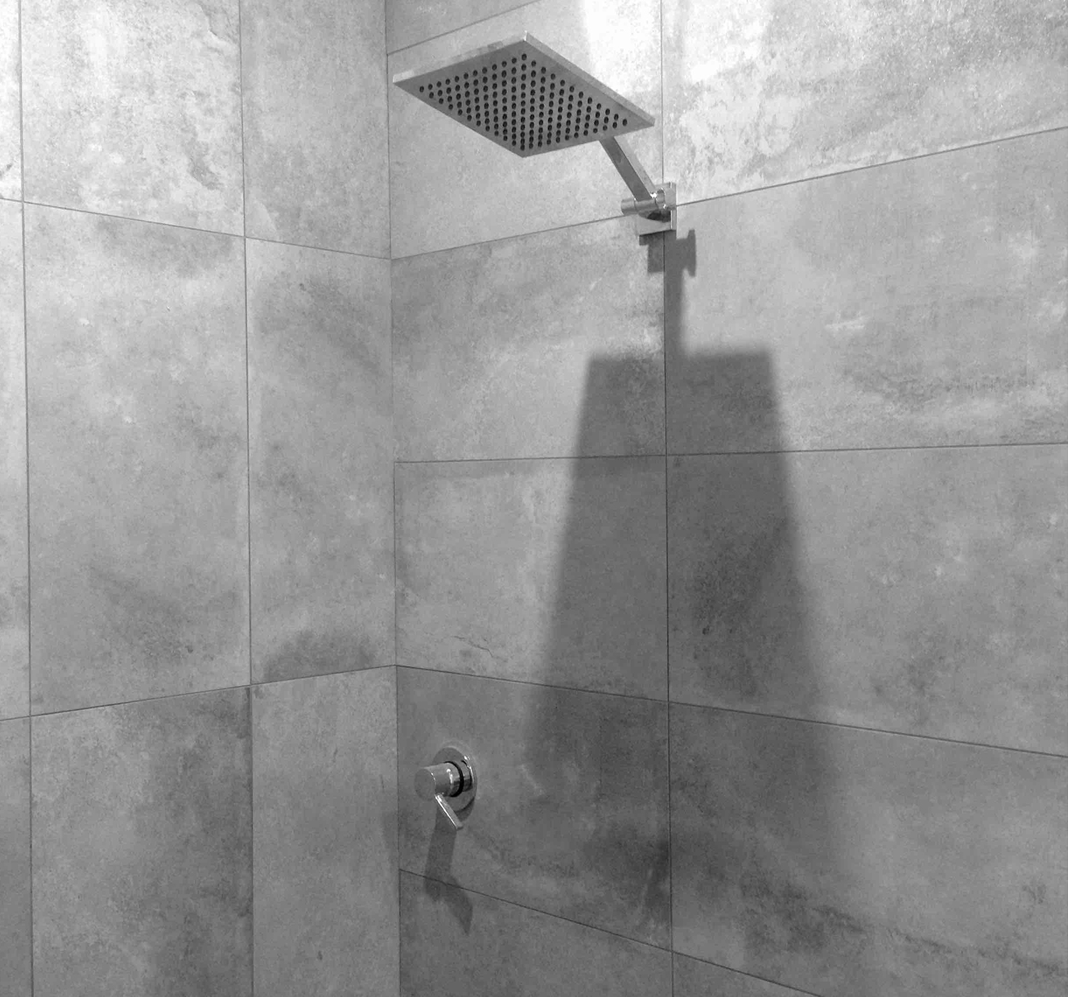 shower before a float tank session